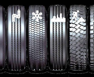 Грузовые шины: особенности и виды